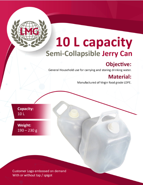 Semi Collapsible Jerry Can